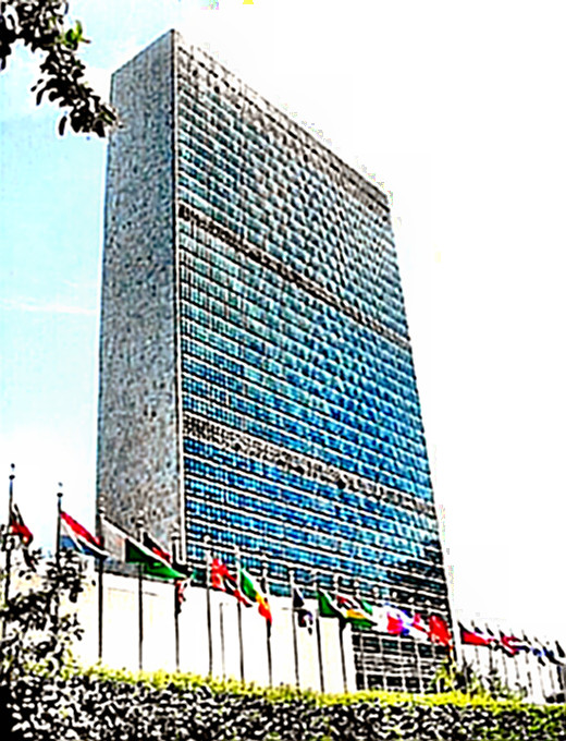 United Nations Building, Copyright 2003, 2004 Norman Walsh. Work licensed under Creative Commons License