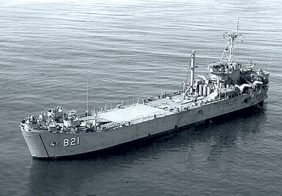 Task Force 116 Support LST