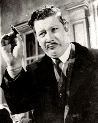 Actor Peter Ustinov
