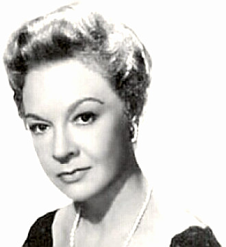 Actress Jo Van Fleet
