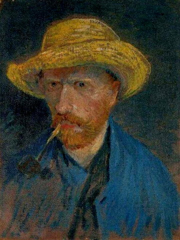 Painter Vincent Van Gogh self-portrait