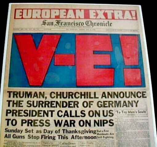 V-E Day - San Francisco Chronicle