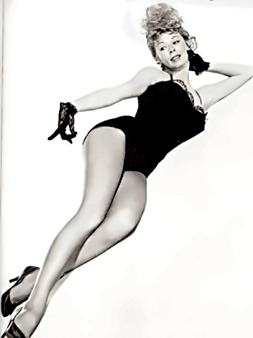 Dancer and Actress Gwen Verdon