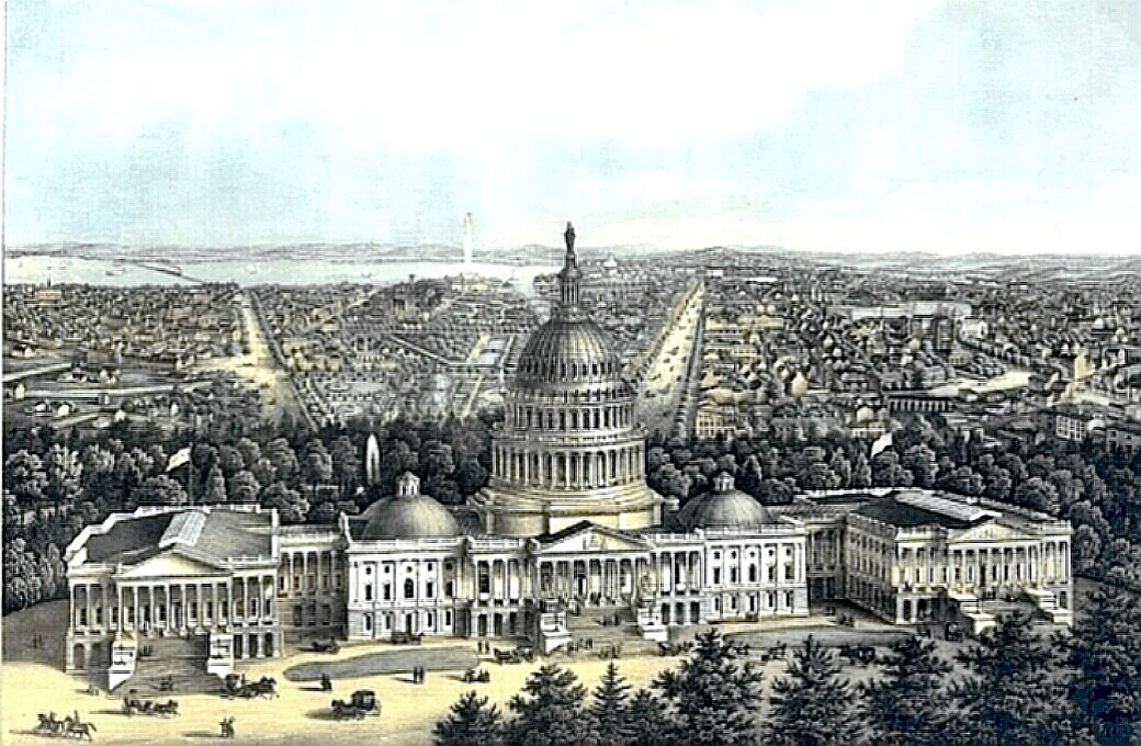 Washington, D.C. - Capitol City in earlier times