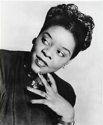 Singer Dinah Washington