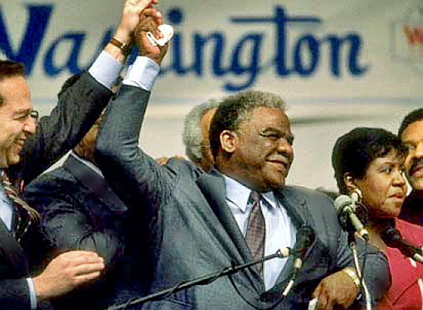 Chicago Mayor Harold Washington