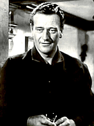Actor John Wayne in Wake of the Red Witch
