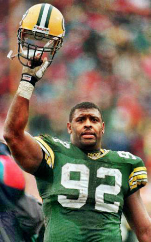 Hall of Fame Defensive End Reggie White