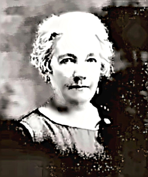Writer Laura Ingalls Wilder