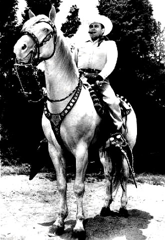 Bob Wills on his horse Clover