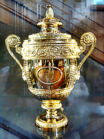 Wimbledon - the first trophy to be awarded