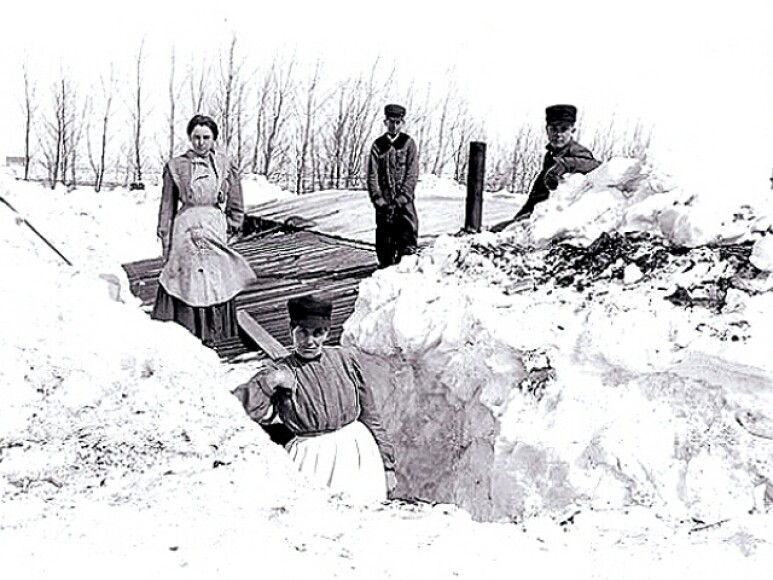 Winter - digging out