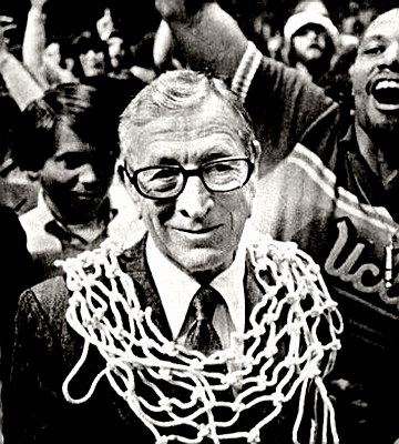 Hall of Fame Coach John Wooden