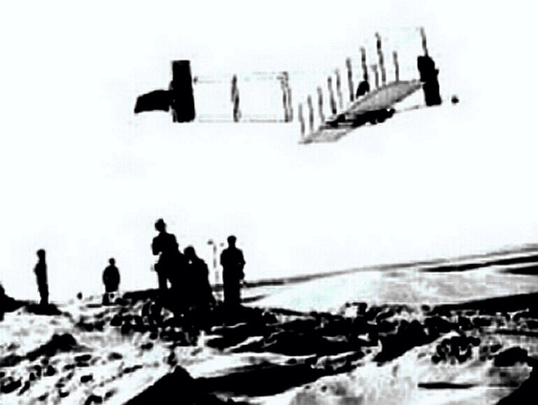 Wright Brothers make first sustained powered flight