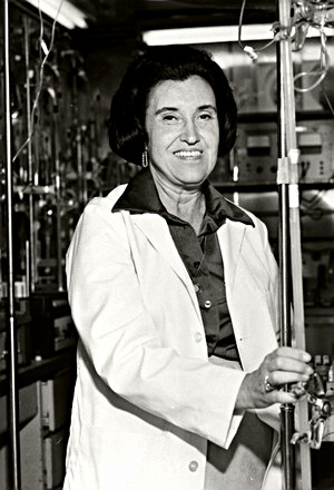 Scientist Rosalyn Sussman Yalow