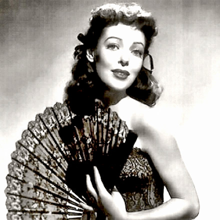 Actress Loretta Young